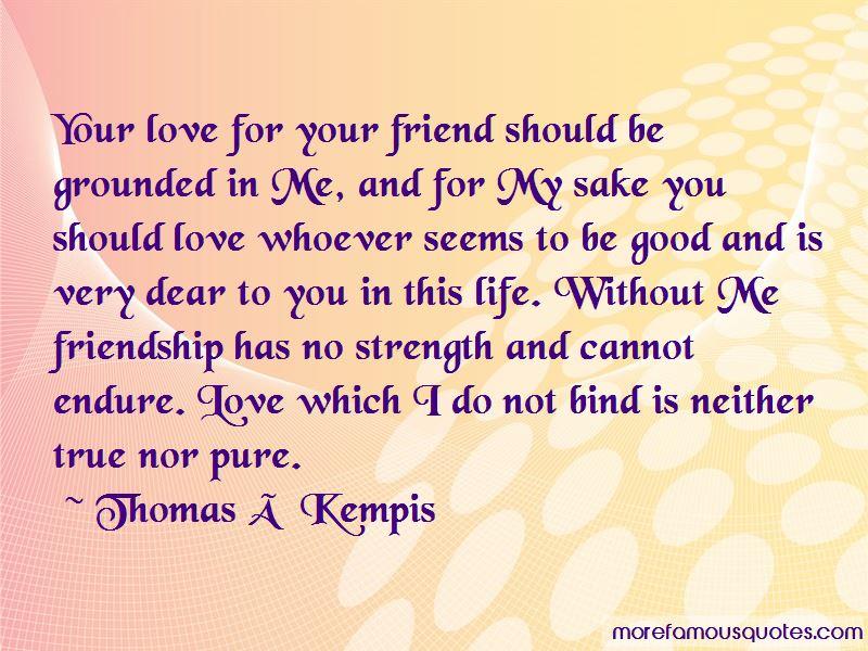 Love True Friendship Quotes Pictures 3