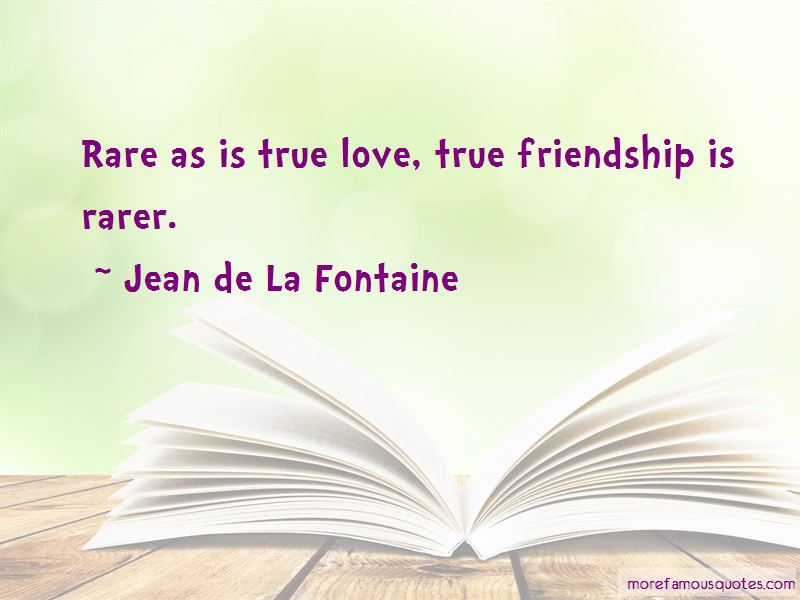 Love True Friendship Quotes