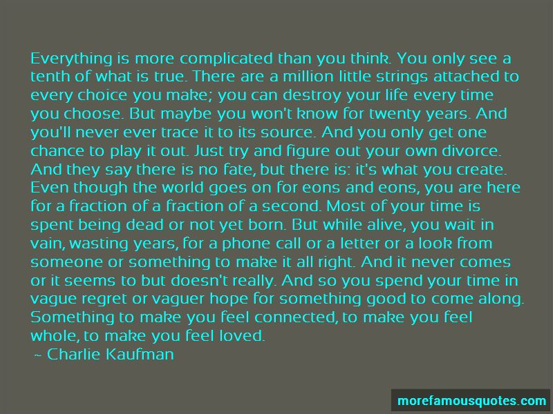 Quotes About Being Second Choice To Someone