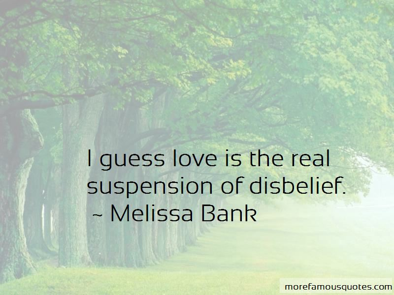 Quotes About Disbelief In Love