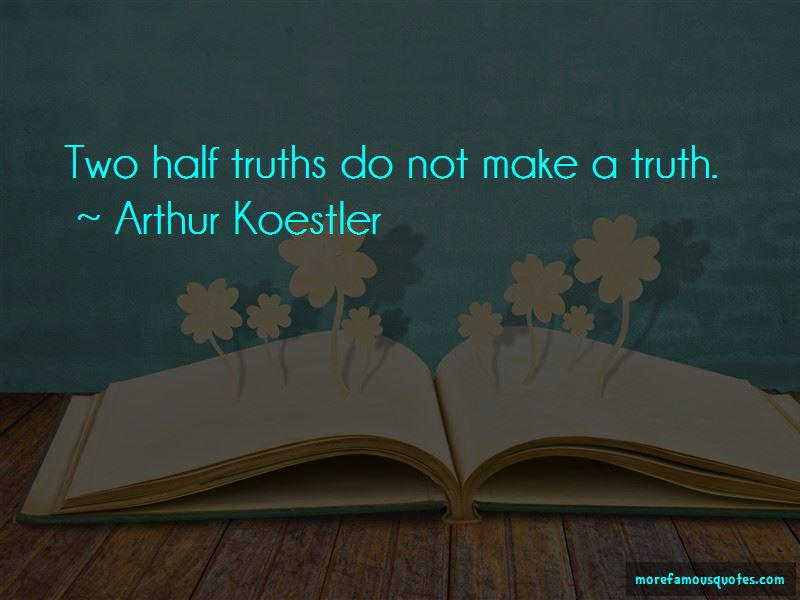 Half Truths Quotes Pictures 4