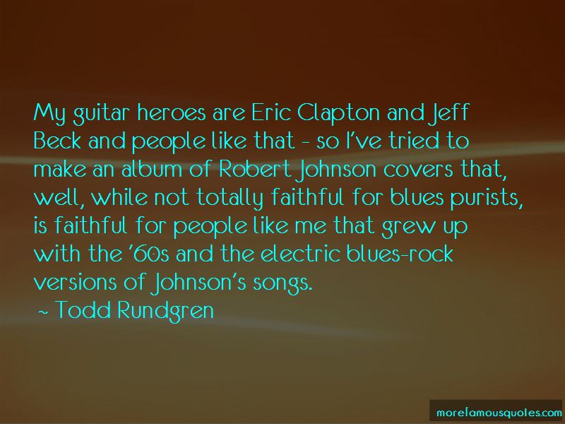 Quotes About Robert Johnson