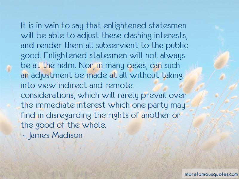 Clashing Quotes