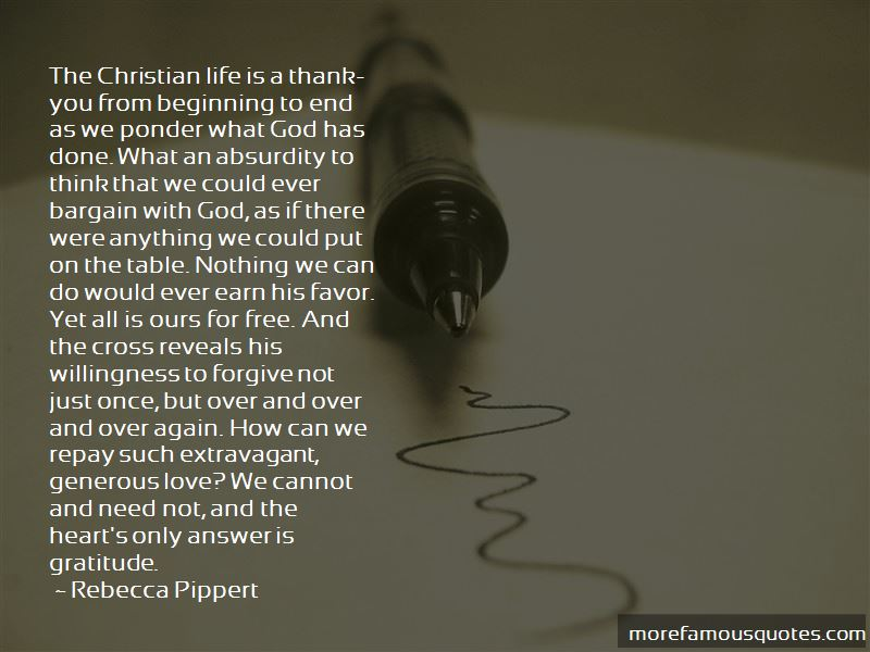 Free Christian Thank You Quotes