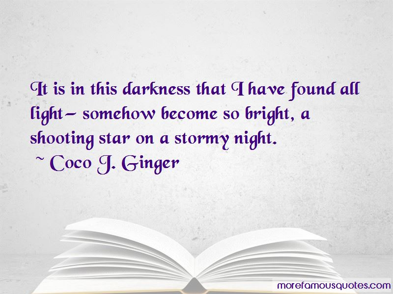 Quotes About A Stormy Night