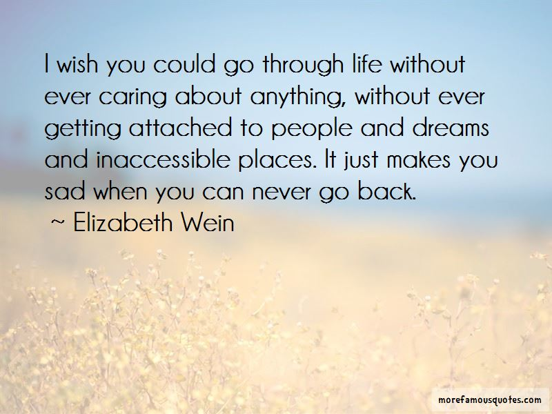 Quotes About Getting Attached