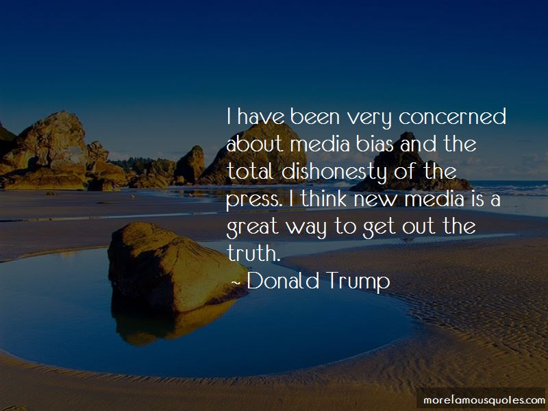 Quotes About Media Bias