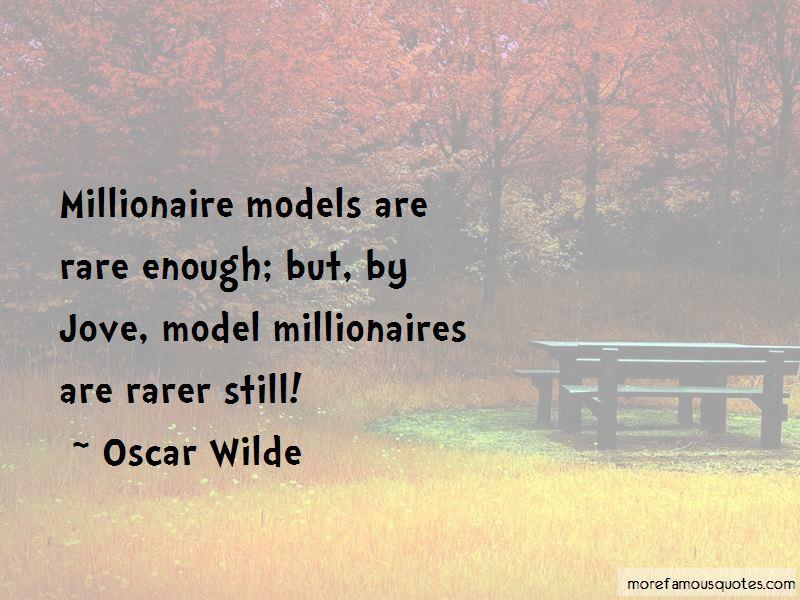 Quotes About Model Millionaire