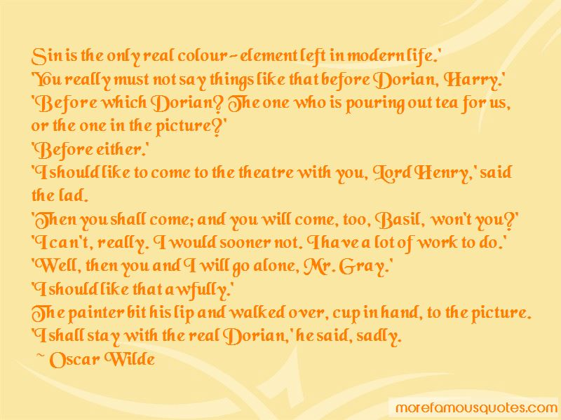 Sin In Dorian Gray Quotes Pictures 2