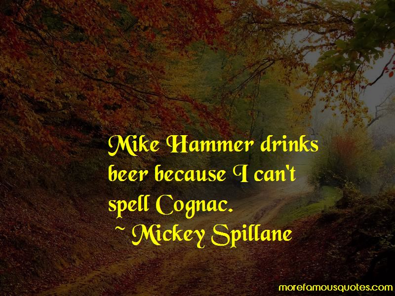 Mike Hammer Quotes Pictures 3