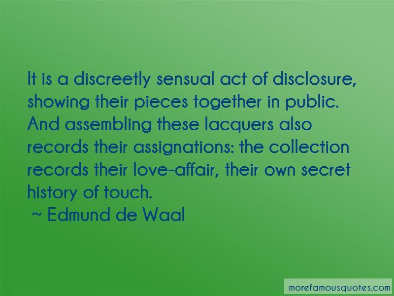 A Secret Love Affair Quotes Pictures 2