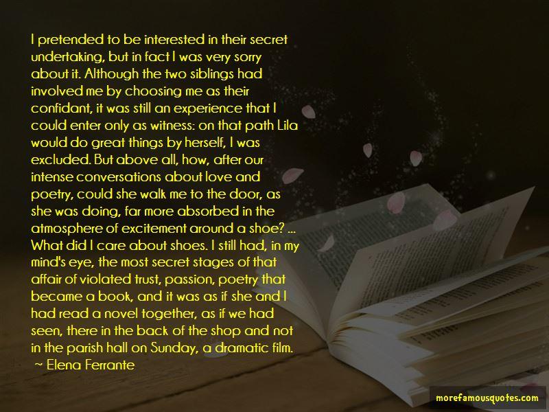 A Secret Love Affair Quotes Pictures 3