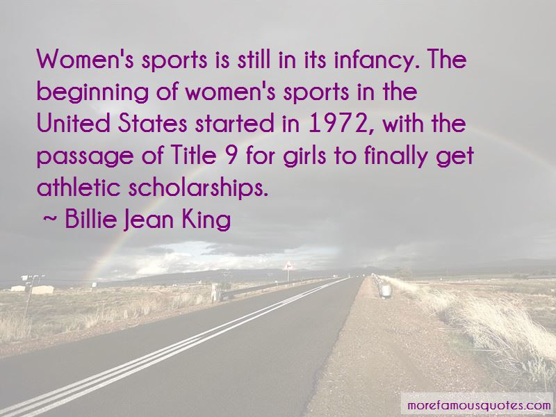 Quotes About Athletic Scholarships