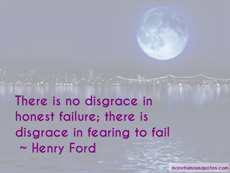 Quotes About Fearing Failure