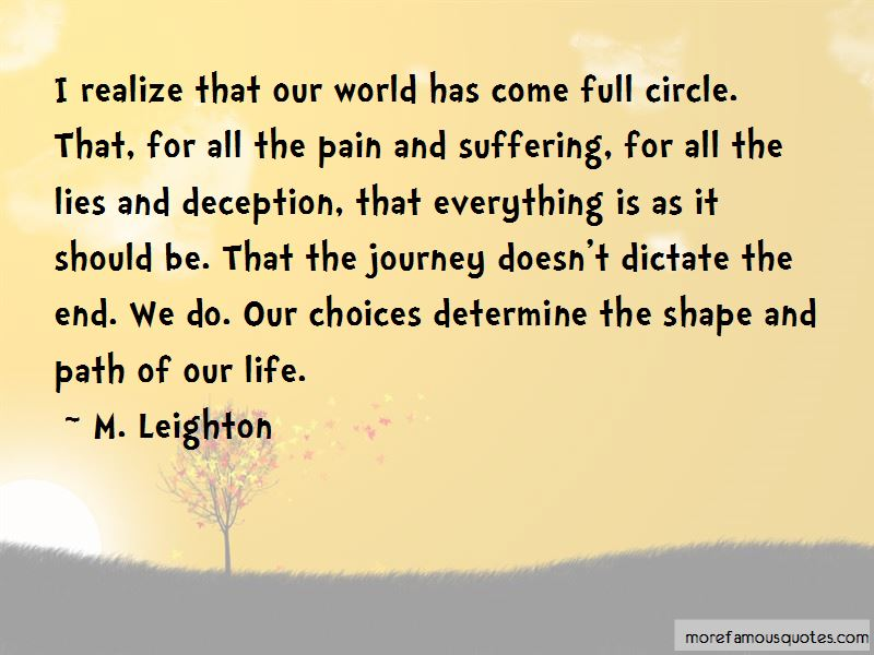 Life Full Circle Quotes Pictures 4