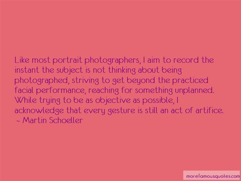 Quotes About Portrait Photographers