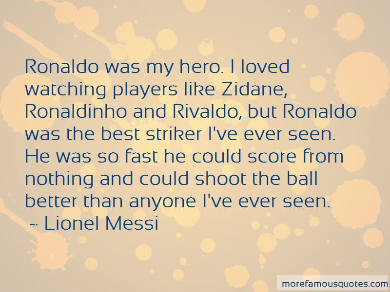 Quotes About Rivaldo