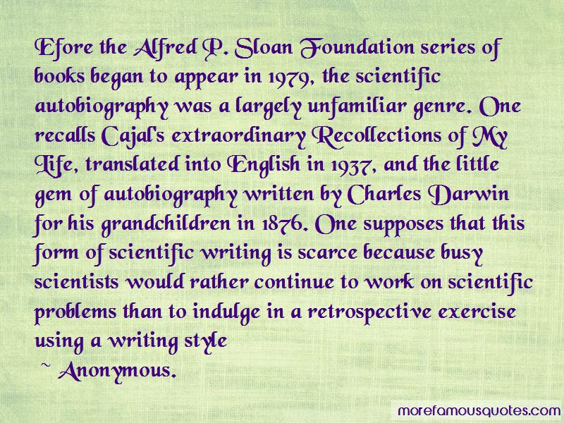 Quotes About Scientific Writing