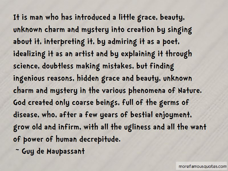 Quotes About Unknown Beauty