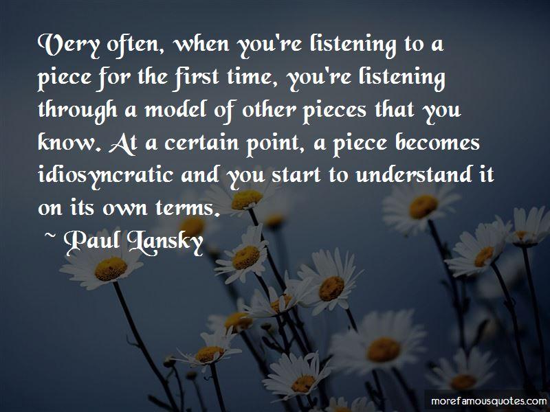 Very Often Quotes