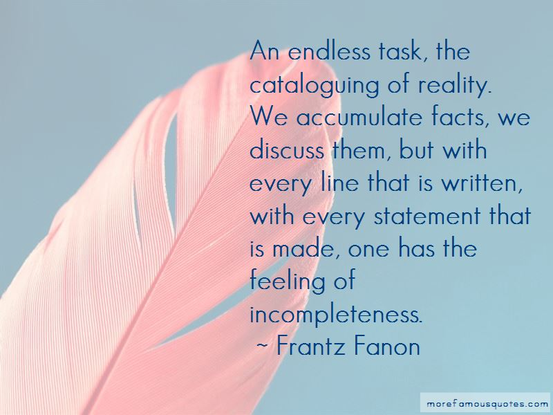 Feeling Of Incompleteness Quotes