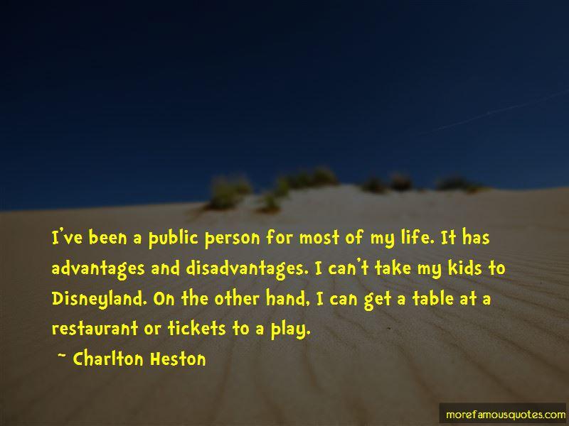 Quotes About Advantages And Disadvantages