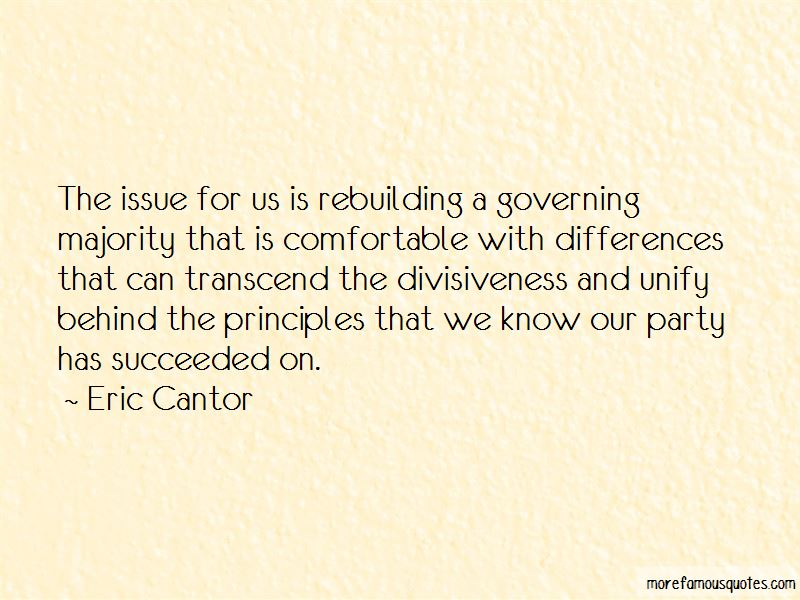 Quotes About Divisiveness