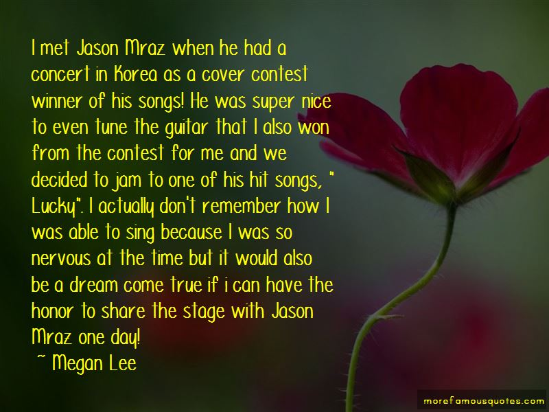 Quotes About Jason Mraz