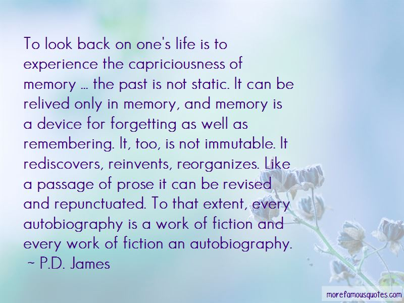 Life And Forgetting The Past Quotes Pictures 3