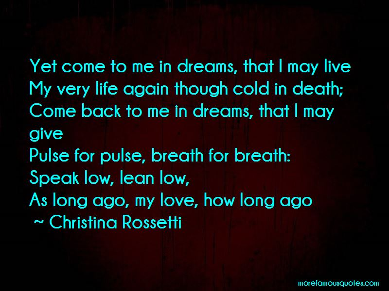 Quotes About Life Long Dreams