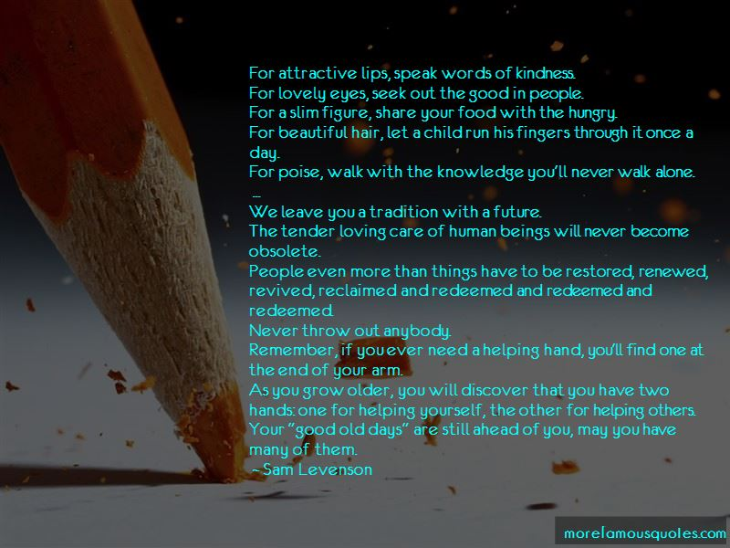 Quotes About Loving Old Things