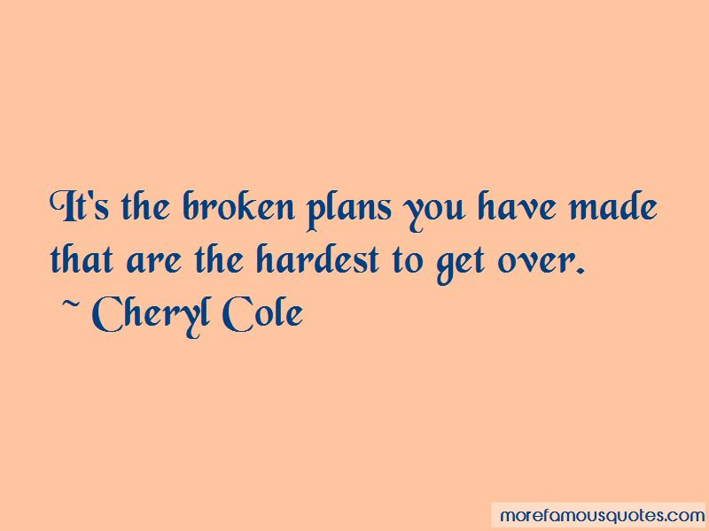 Broken Plans Quotes