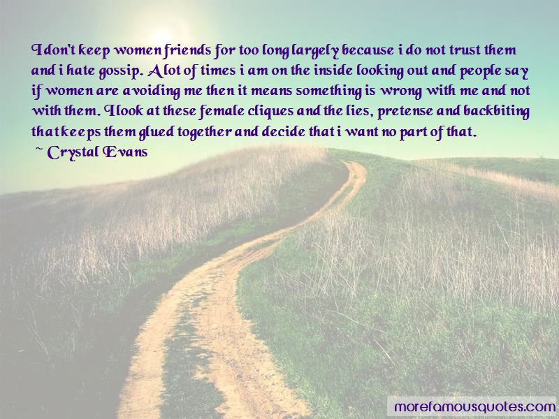 Friends Backbiting Quotes