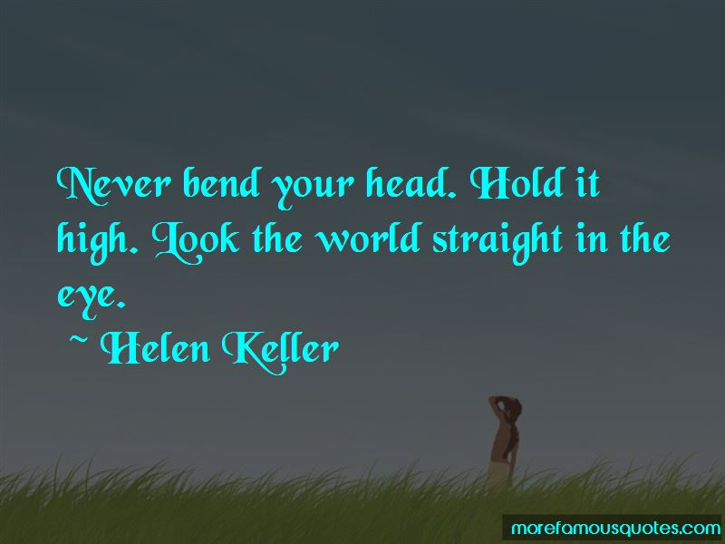 Hold Ur Head Up High Quotes
