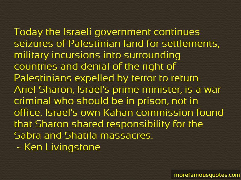 Israeli Government Quotes