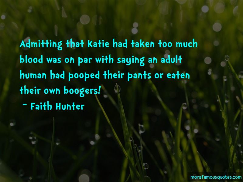 Quotes About Boogers