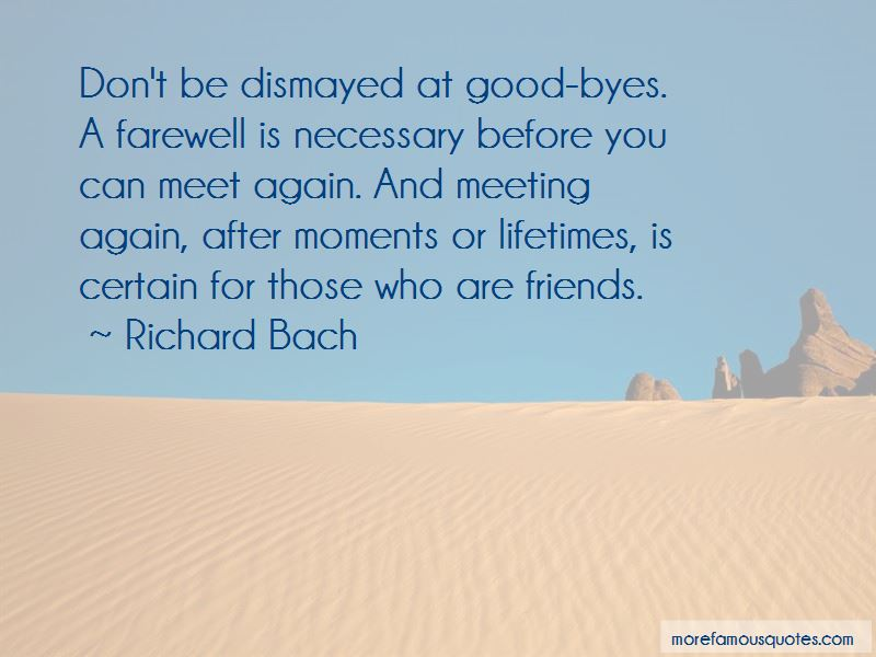 Quotes About Friends Meet Again