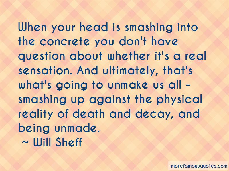Quotes About Reality Of Death