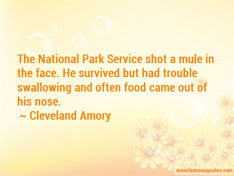 Quotes About The National Park Service
