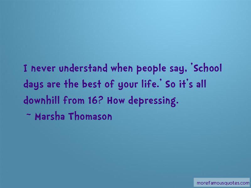 school life is best quotes
