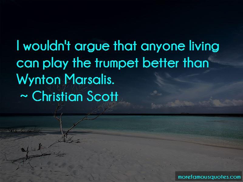 Wynton Marsalis Trumpet Quotes