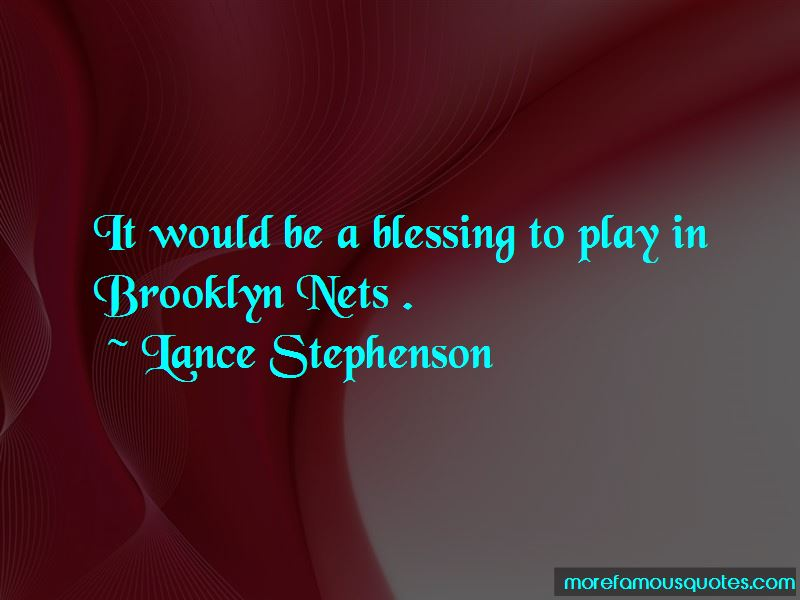 Brooklyn Nets Quotes