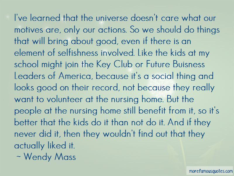 Good Key Club Quotes