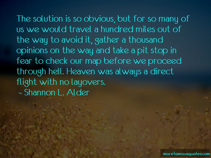 Quotes About Layovers