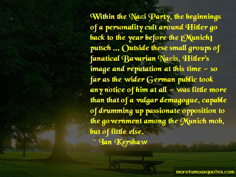 Quotes About Nazi Opposition