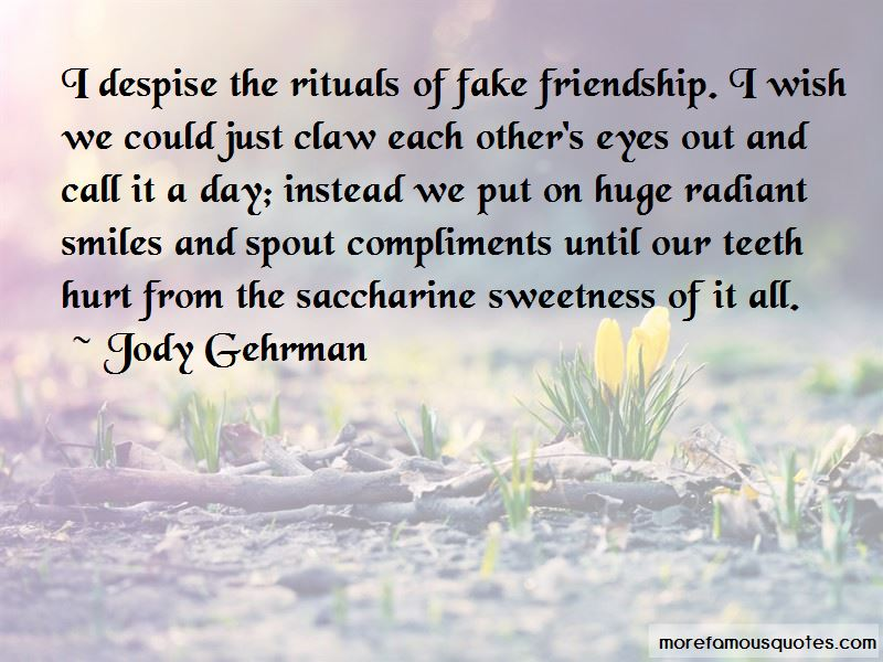Quotes About Smiles And Friendship