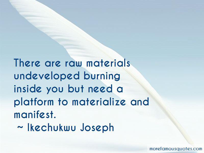Burning Platform Quotes