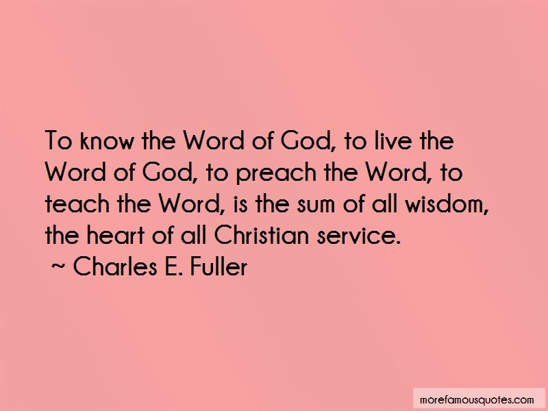 Christian Word Of Wisdom Quotes Pictures 3