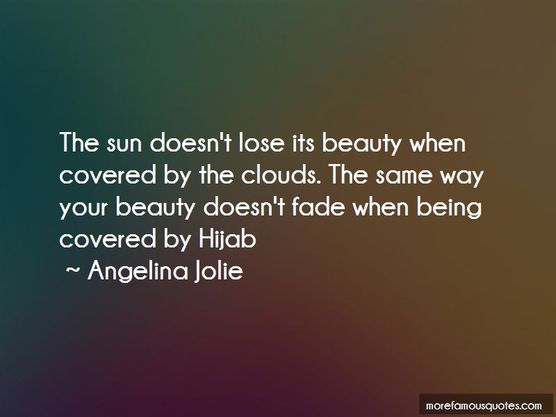 Covered Beauty Quotes