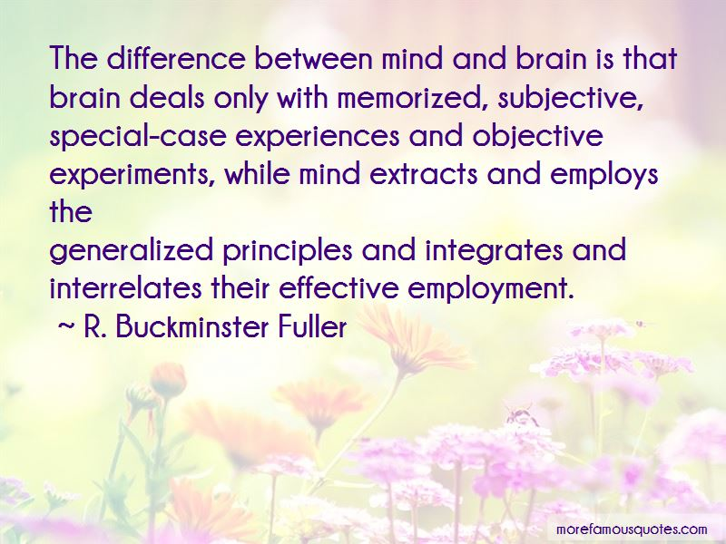 Difference Between Mind And Brain Quotes